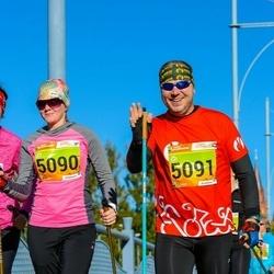 4. Tartu Linnamaraton - Kaja Filatenko (5025), Berit Kroon (5090), Hanno Kroon (5091)