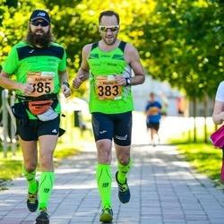 4. Tartu Linnamaraton - Martin Pedai (383), Andrus Rüütelmaa (385)