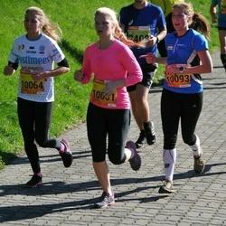 4. Tartu Linnamaraton - Merili Aaspalu (10001), Lisbeth Neevits (10064), Marili Zimmermann (10093)