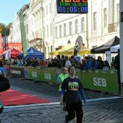 4. Tartu Linnamaraton - Boglarka Janurik (2160)
