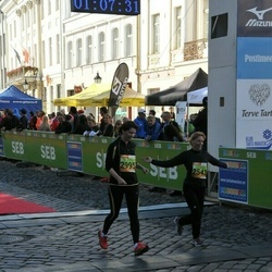 4. Tartu Linnamaraton - Virve Mihkelev (2543), Christel Umal (2995)