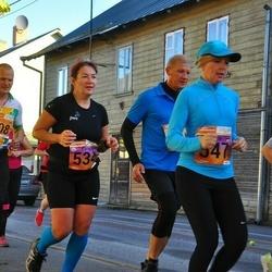 4. Tartu Linnamaraton - Karin Laurik (534), Vahur Kahu (608)