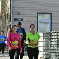 4. Tartu Linnamaraton - Laura Männiste (10063), Paula Pedamäe (10072)