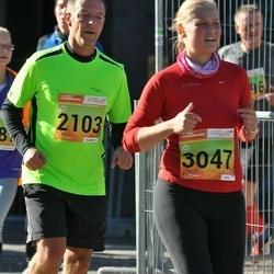 4. Tartu Linnamaraton - Mikko Hakonen (2103), Riina Veskimäe (3047)