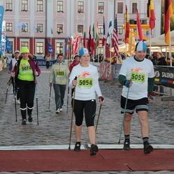 1. Tartu Linnamaraton / Sügisjooks - Pirje Haljaste (5023), Berit Kroon (5054), Hanno Kroon (5055), Katrin Luha (5074)