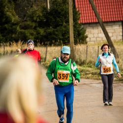 1. Tartu Linnamaraton / Sügisjooks - Matti Silber (359), Annika Aas (368)