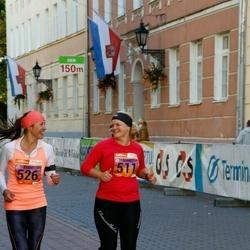 4. Tartu Linnamaraton - Anniki Inno (511), Kristel Seiler (526)