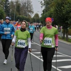 34. Paide-Türi rahvajooks - Merit Männi (2161), Marika Rajamäe (2462)