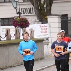 1. Tartu Linnamaraton / Sügisjooks - Janno Metsapool (77), Agu Vilu (200)