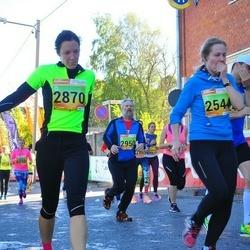 4. Tartu Linnamaraton - Kaisa Mihklepp (2544), Pilleriin Soodla (2870), Aare Tinn (2950)