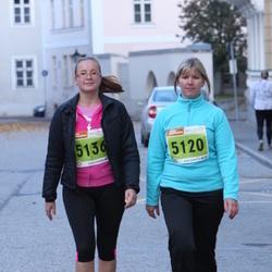1. Tartu Linnamaraton / Sügisjooks - Piret Rämmi (5120), Anna Zahhorova (5136)