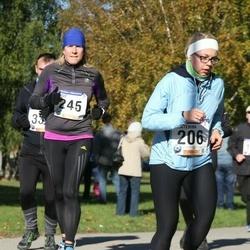 60. Viljandi Linnajooks - Jekaterina Andrejeva (206), Birgit Nool (245)