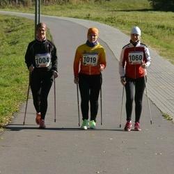 60. Viljandi Linnajooks - Anneli Pukk (1004), Anneli Sitska (1019), Ingrid Piir (1060)