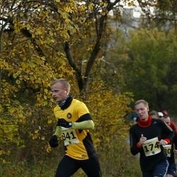 42. Saaremaa Kolme Päeva Jooks - Brait Õispuu (174), Toomas Kiis (341)