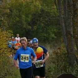 42. Saaremaa Kolme Päeva Jooks - Ott Viirmann (245), Arnis Sulmeisters (301)