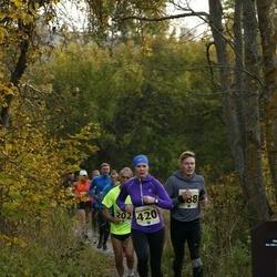 42. Saaremaa Kolme Päeva Jooks - Britta Panker (420), Taavi Eigo (588)