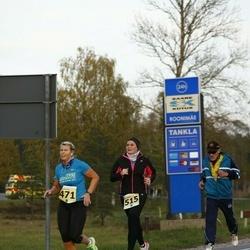 42. Saaremaa Kolme Päeva Jooks - Raili Rüütel (471), Kati Arro (515)