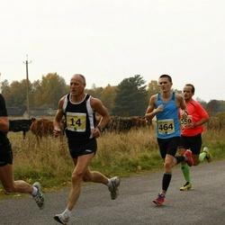 42. Saaremaa Kolme Päeva Jooks - Ago Veilberg (14), Oliver Mändla (464), Kalev Õisnurm (524), Janar Juhkov (559)