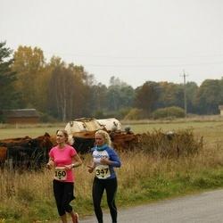 42. Saaremaa Kolme Päeva Jooks - Agne Väljaots (160), Diana Paulberg (347)