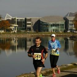 42. Saaremaa Kolme Päeva Jooks - Elise Saarna (136), Aarne Hõbelaid (147)