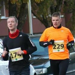 42. Saaremaa Kolme Päeva Jooks - Brait Õispuu (174), Mart Kivi (229)