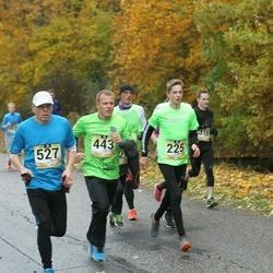 Kahe Staadioni jooks - Rando Teearu (225), Andre Kaaver (443), Arvi Puusaar (527)