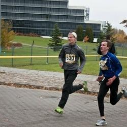 Kahe Staadioni jooks - Kevin Post (503), Andre Alttoa (530)