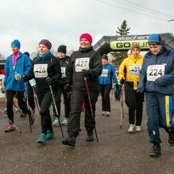 Tartu Novembrijooks - Kaie Kivila (224), Ülle Ardel (427), Karin Ojarand (428), Annely Põldaru (431)