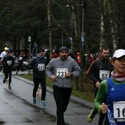 13. Vana-aasta jooks ja maraton - Aare Kesamaa (62), Jaan Terep (231), Heigo Saar (321)