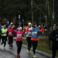 13. Vana-aasta jooks ja maraton - Alar Alajaan (5), Kristi Lasn (101), Mari-Liis Liipa (106), Artur Parm (158), Signe Uibo (254), Annika Veimer (269)