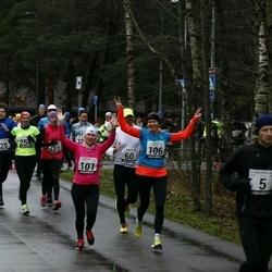 13. Vana-aasta jooks ja maraton - Alar Alajaan (5), Hardi Hõimoja (28), Kristi Lasn (101), Mari-Liis Liipa (106), Artur Parm (158), Signe Uibo (254), Annika Veimer (269)