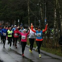 13. Vana-aasta jooks ja maraton - Alar Alajaan (5), Hardi Hõimoja (28), Kristi Lasn (101), Mari-Liis Liipa (106), Artur Parm (158), Annika Veimer (269)