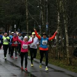 13. Vana-aasta jooks ja maraton - Hardi Hõimoja (28), Kristi Lasn (101), Mari-Liis Liipa (106), Artur Parm (158), Signe Uibo (254), Annika Veimer (269)