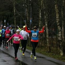 13. Vana-aasta jooks ja maraton - Hardi Hõimoja (28), Kristi Lasn (101), Mari-Liis Liipa (106), Artur Parm (158), Annika Veimer (269)