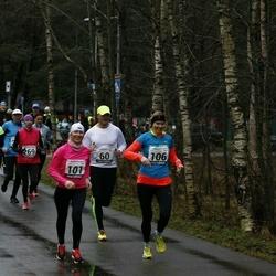 13. Vana-aasta jooks ja maraton - Hardi Hõimoja (28), Raimond Kesa (60), Kristi Lasn (101), Mari-Liis Liipa (106), Artur Parm (158), Signe Uibo (254), Annika Veimer (269)