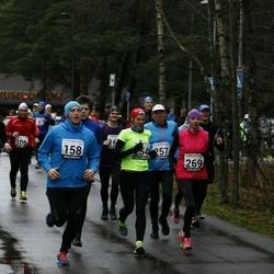 13. Vana-aasta jooks ja maraton - Artur Parm (158), Jan Raudsepp (185), Signe Uibo (254), Annika Veimer (269)
