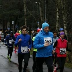 13. Vana-aasta jooks ja maraton - Hardi Hõimoja (28), Artur Parm (158), Annika Veimer (269)