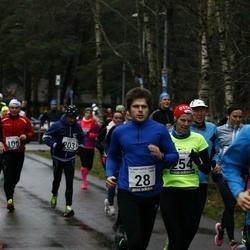 13. Vana-aasta jooks ja maraton - Hardi Hõimoja (28), Ulvar Liira (108), Artur Parm (158), Jan Raudsepp (185), Marek Saar (203)