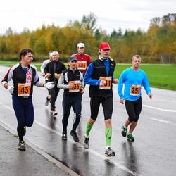1. Tartu Linnamaraton / Sügisjooks - Indrek Peterkopf (43), Alo Martinson (251), Aarne Seeba (435)