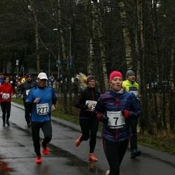 13. Vana-aasta jooks ja maraton - Sandra Aleksius (7), Caisa-Merili Mõik (135), Vello Voolaid (277)