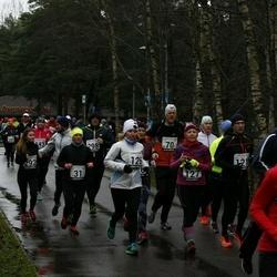 13. Vana-aasta jooks ja maraton - Age Jakobson (31), Marko Koppa (70), Margit Mets (126), Jelena Mets (127), Maarja Müür (292)