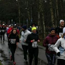 13. Vana-aasta jooks ja maraton - Age Jakobson (31), Margit Mets (126), Maarja Müür (292)
