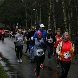13. Vana-aasta jooks ja maraton - Anne Arendi (11), Anna Leena Koržets (76), Teele Pern (163), Risto Raaper (181), Ants Turb (246), Margit Peebo (300)