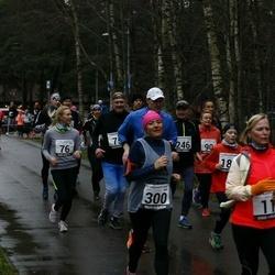 13. Vana-aasta jooks ja maraton - Anne Arendi (11), Peeter Koržets (75), Anna Leena Koržets (76), Risto Raaper (181), Margit Peebo (300)
