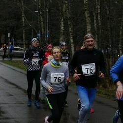 13. Vana-aasta jooks ja maraton - Peeter Koržets (75), Anna Leena Koržets (76), Risto Raaper (181)