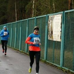 13. Vana-aasta jooks ja maraton - Mari-Liis Liipa (106), Karin Laurik (141), Artur Parm (158)