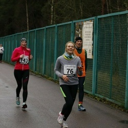 13. Vana-aasta jooks ja maraton - Anna Leena Koržets (76), Karin Neem (143), Villu Zirnask (192)