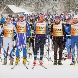 18. Tamsalu-Neeruti Maraton - Ulvar Pavlov (1001), Sulev Muru (1002), Indrek Pak (1003), Arvo Raja (1004), Kaarel Toss (1005)