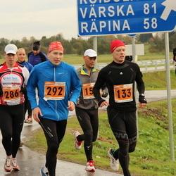 1. Tartu Linnamaraton / Sügisjooks - Jarek Mäestu (133), Ahti Nuga (280), Alar Lehesmets (286), Peeter Kuznetsov (292)