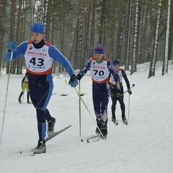 Võiste Suusamaraton - Kristjan Lehesmets (43), Arnold Schmidt (70)